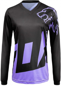 Fox Women Mountain Bike Jersey Long Sleeve
