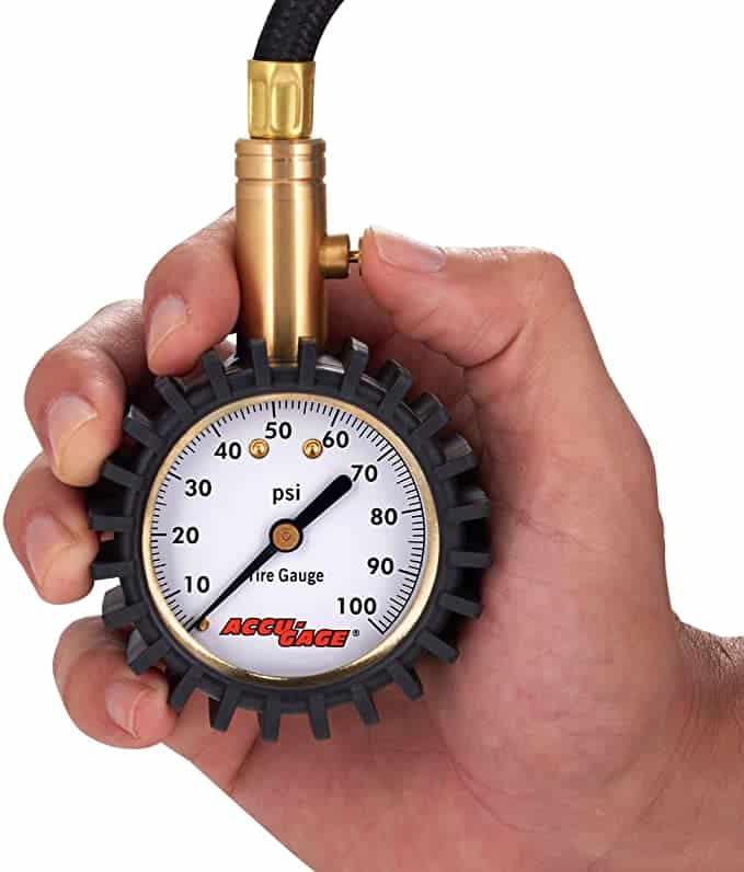 Accu-Gage H100X Professional Tire Pressure Gauge