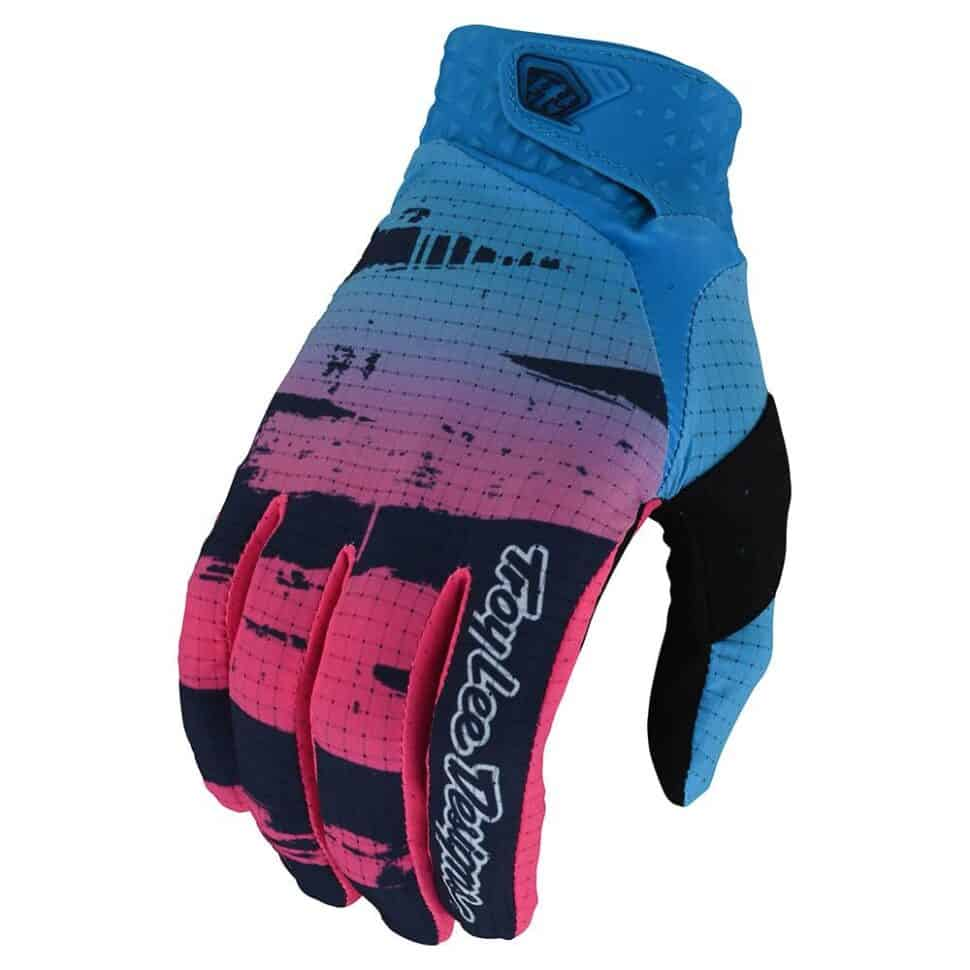 Air Glove Brushed Navy / Cyan