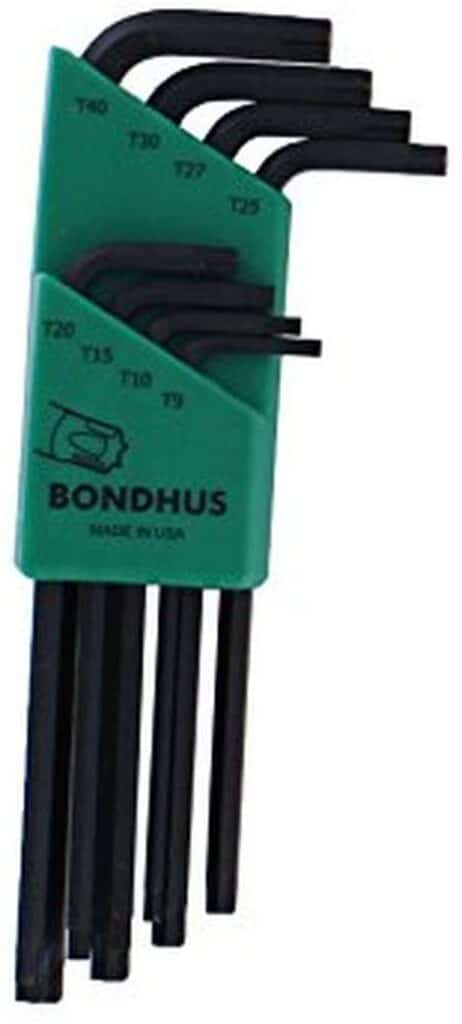 Bondhus 31834 Long Length Star-Tipped L-Wrenches