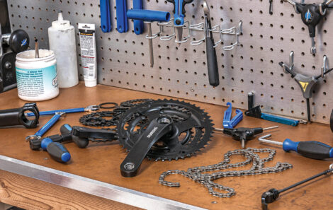 Home Bike Shop Essential Tools